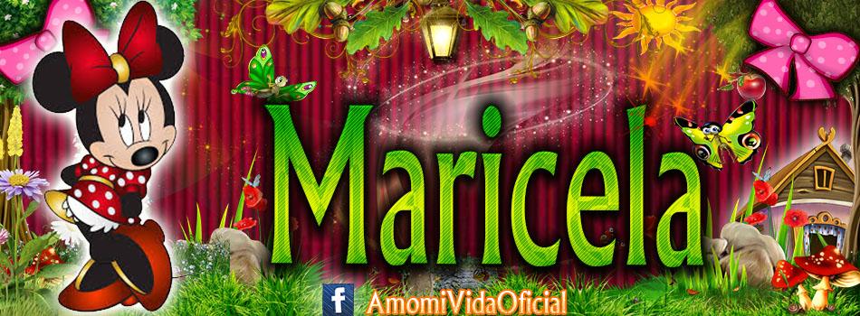Nuevas Portadas para tu Facebook con tu nombre de Minnie y Mickey,Maricela