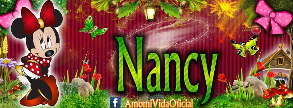 Nuevas Portadas para tu Facebook con tu nombre de Minnie y Mickey,Nancy