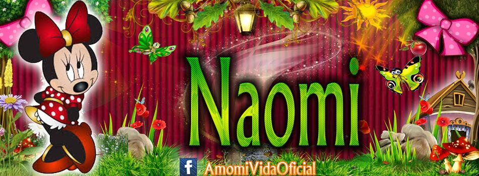 Nuevas Portadas para tu Facebook con tu nombre de Minnie y Mickey,Naomi