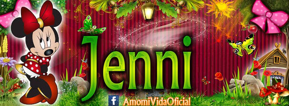 Nuevas Portadas para tu Facebook con tu nombre de Minnie y Mickey,Jenni