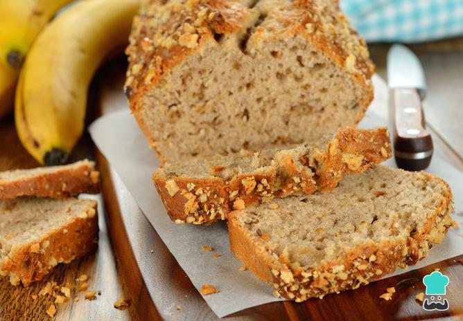 Haz este pan de plátano sin harina, súper saludable y rico, Si te gusta dinos HOLA y dale a Me Gusta MIREN…