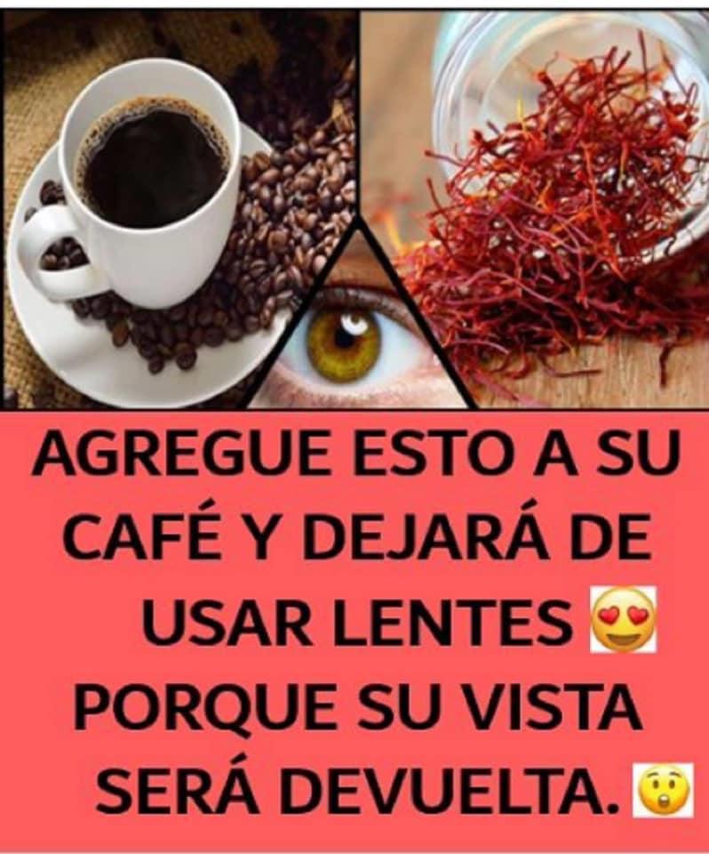 AGREGUE ESTO A SU CAFÉ Y DEJARÁ DE USAR LENTES PORQUE SU VISTA SERÁ DEVUELTA