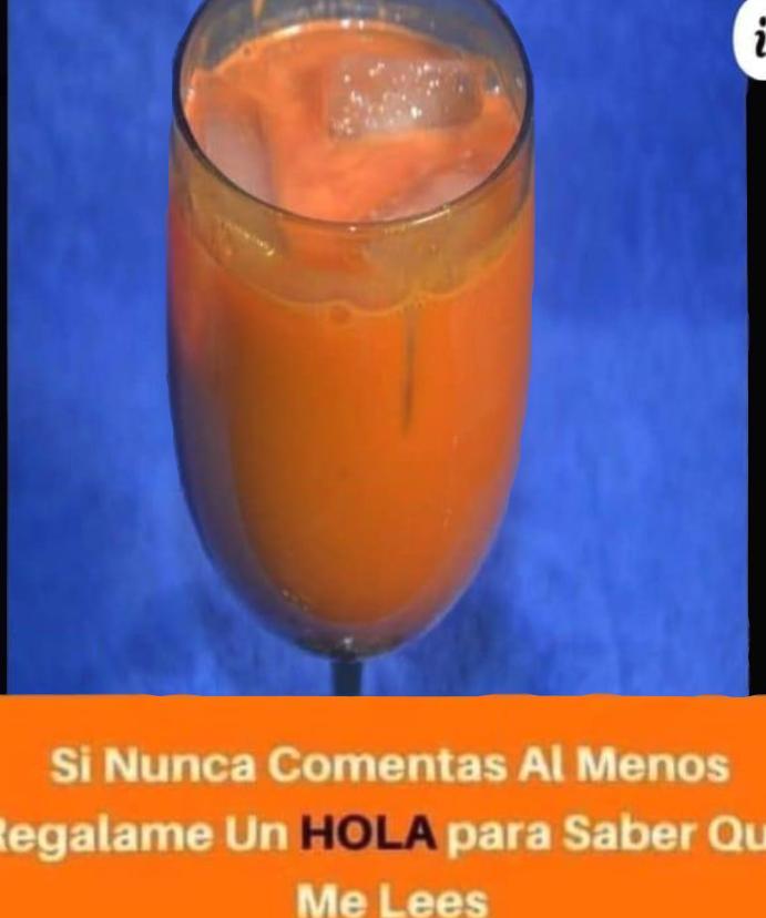 JUGO CONTRA EL CÁNCER.
