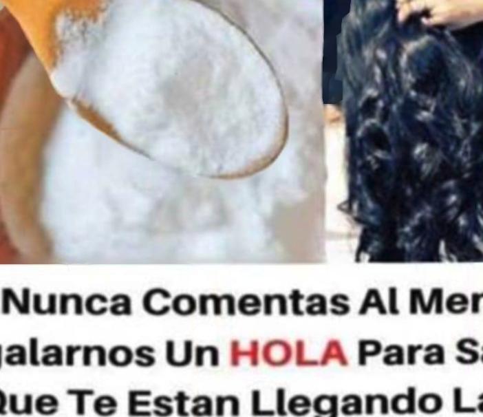 BICARBONATO DE SODIO PARA EL PELO ADIOS A LAS CANAS Y A LA CAIDA DEL CABELLO