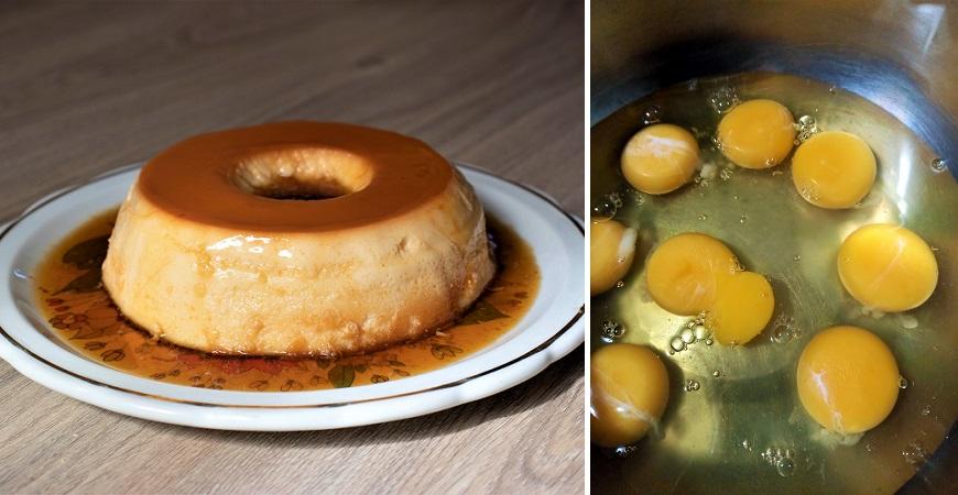 Receta de flan de huevo casero para realizar con solo 3 ingredientes